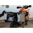 PRO pannier system for KTM 1190 Adv/R with aftermarket exhaust